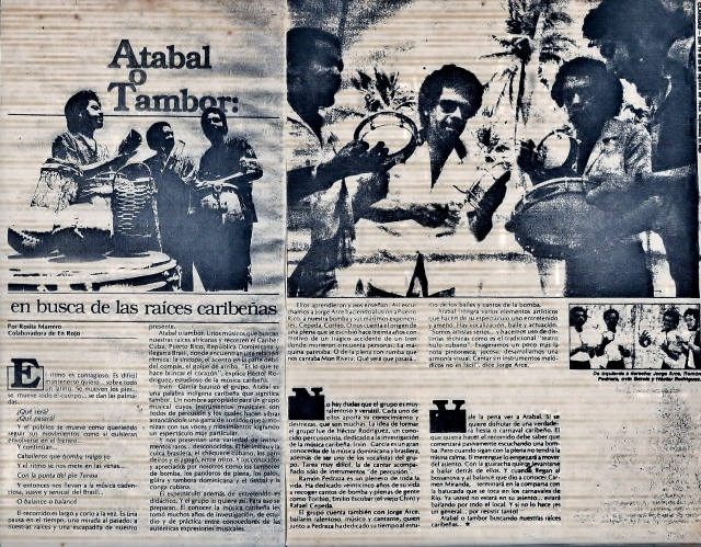 Atabal o tambor 1983 Rosita Marrero jpg